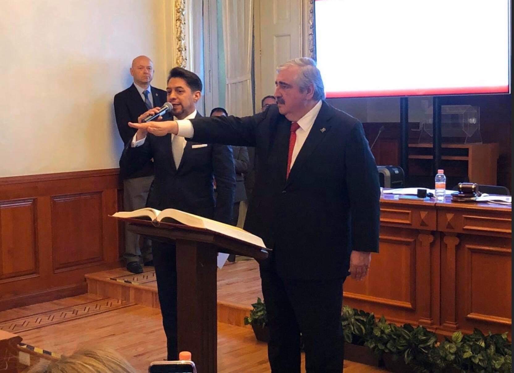 Sodi Cuellar, nuevo titular del Poder Judicial Edoméx