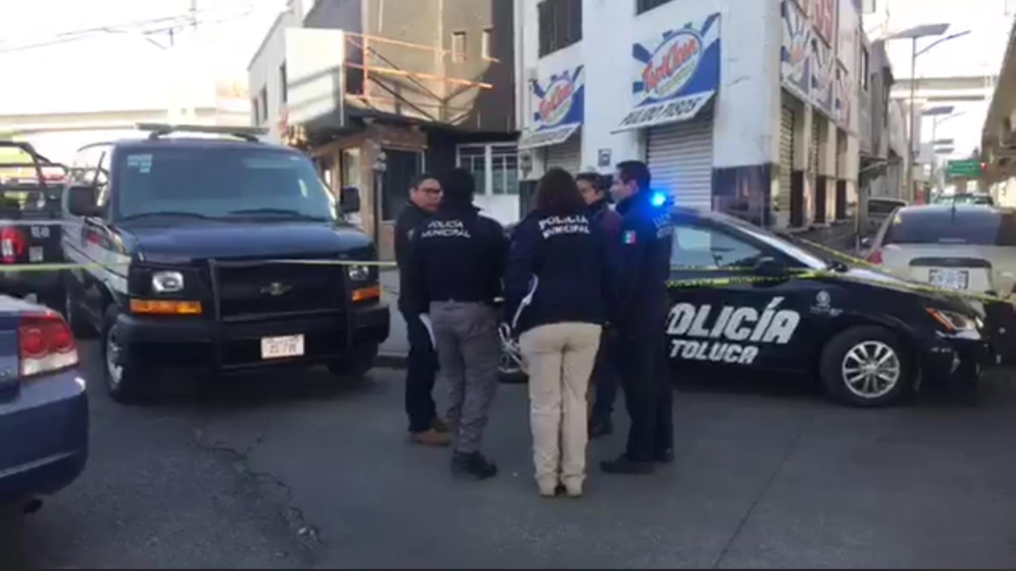 Asesinan a hombre a tiros en Metepec