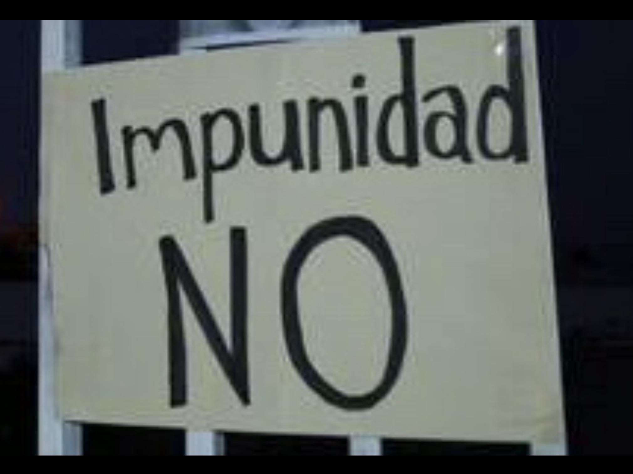 El grave problema de la impunidad en el Estado de México