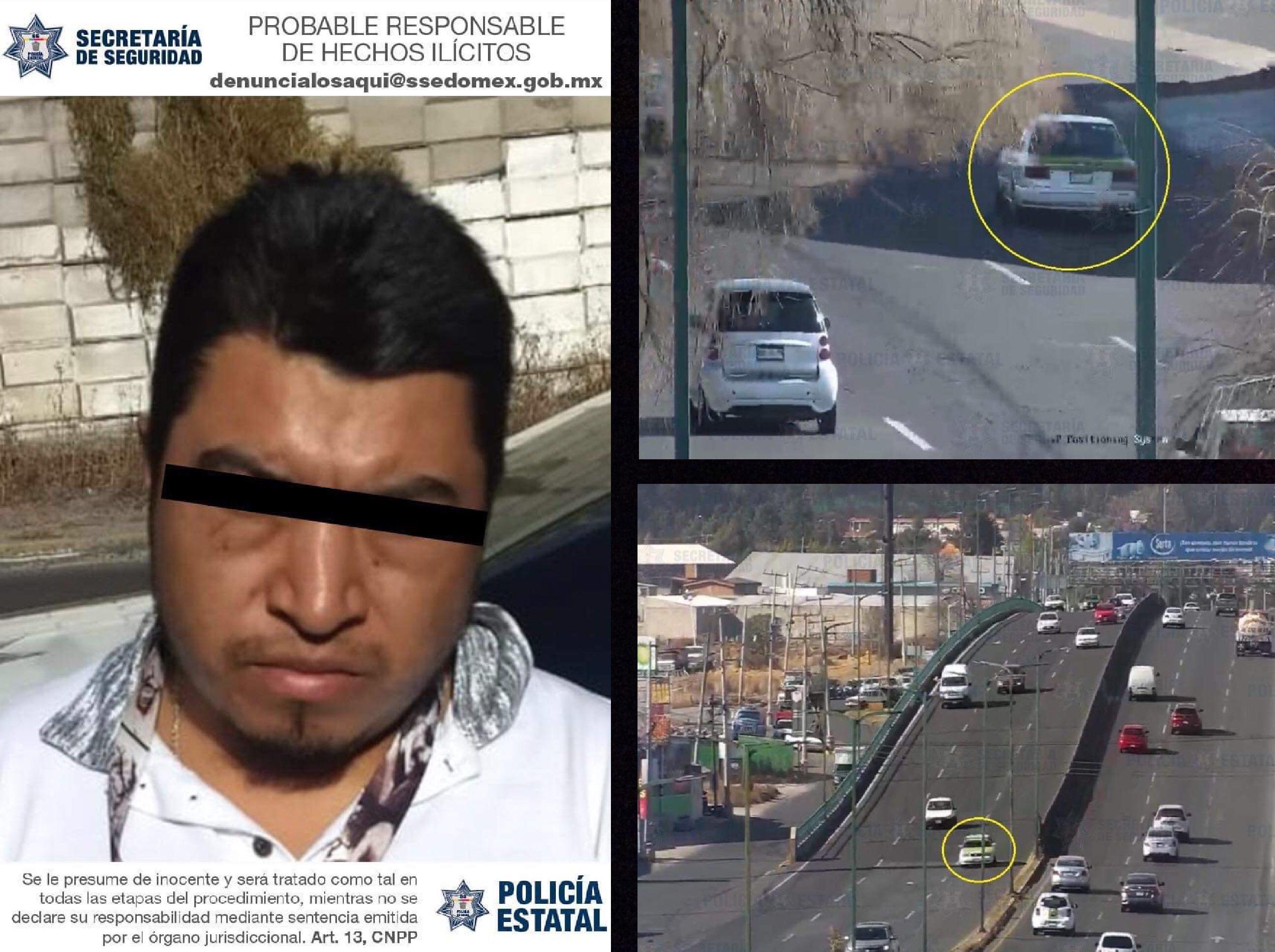 Cae implicado en atraco a oficinas de diario en Toluca