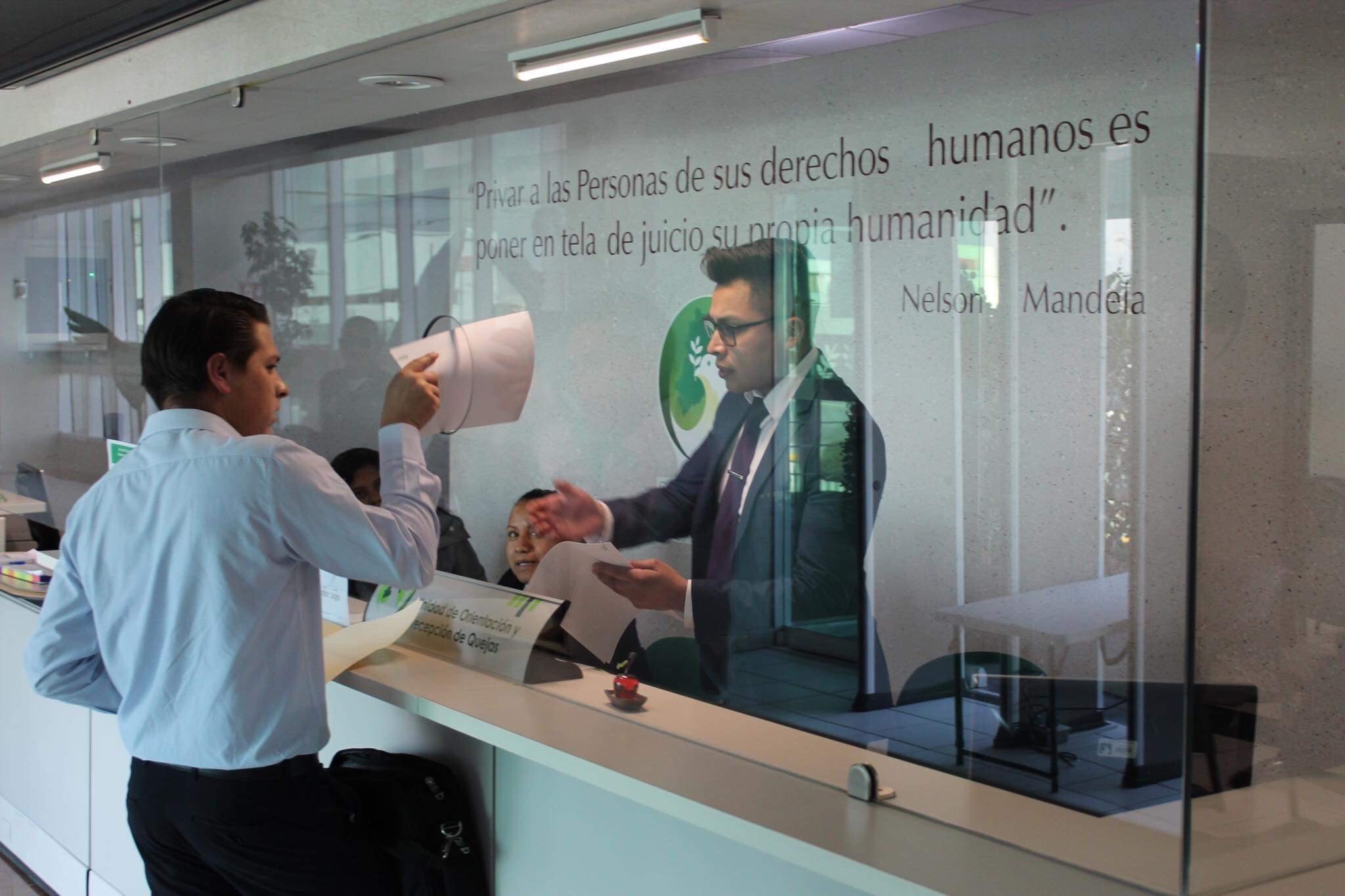 Reporta Codhem inició mil 236 quejas en un mes