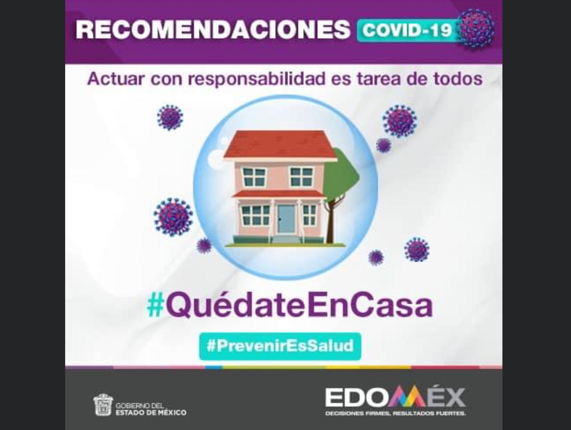 Edoméx alcanza 204 casos positivos de COVID-19