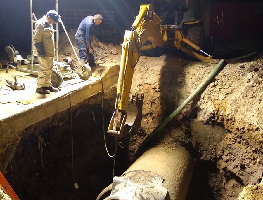 Provoca fuga habrá reducción de agua en Edoméx