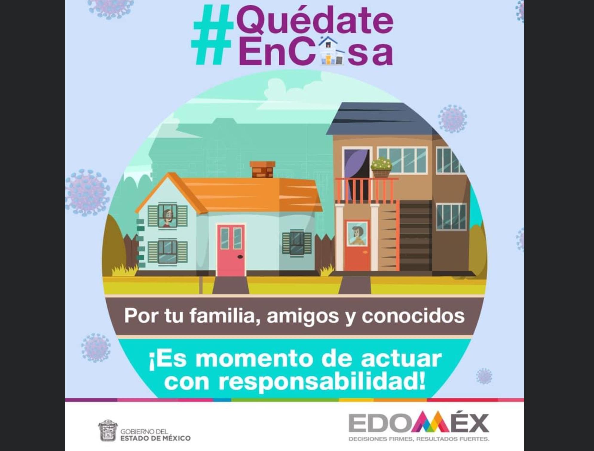 En cuestión de horas Edoméx rebasa los 750 casos positivos de COVID-19