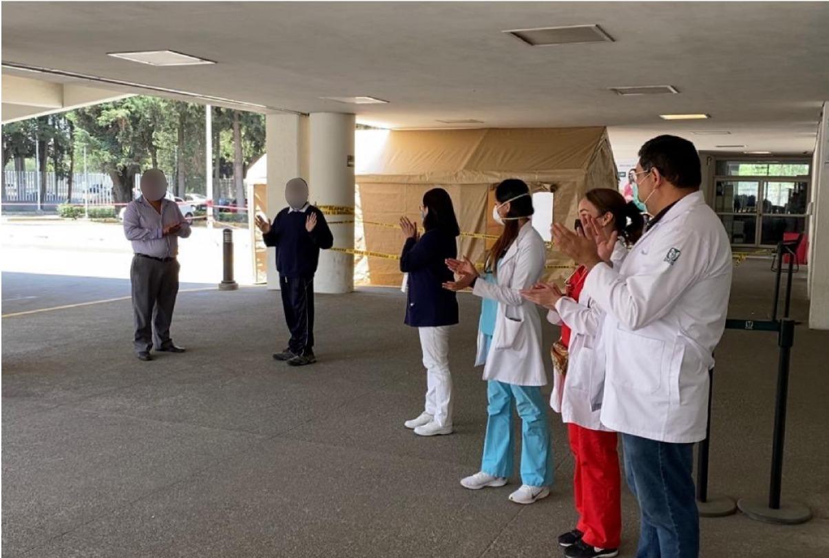 Paciente del IMSS en #Edoméx se recupera de COVID-19