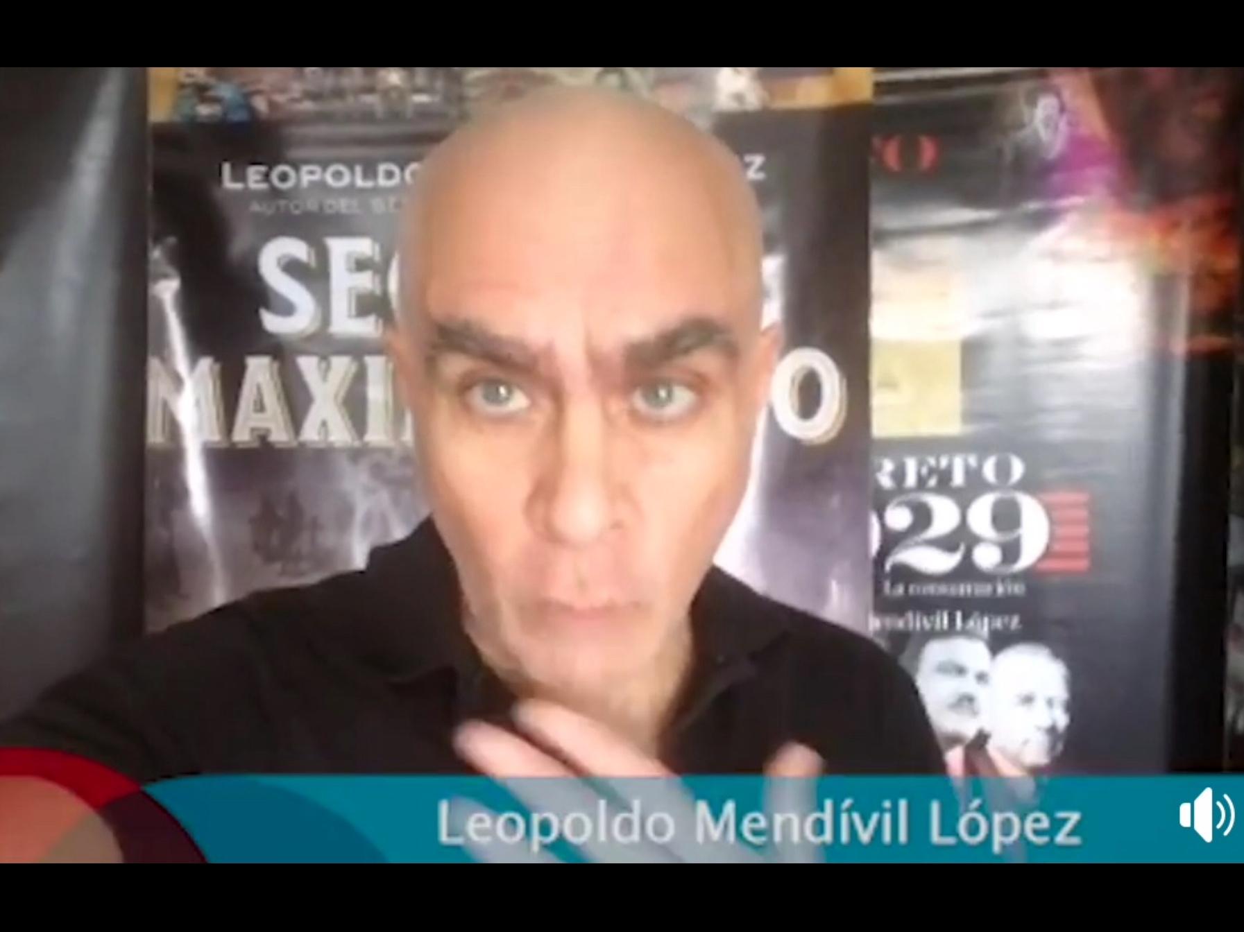 Leopoldo Mendívil presentó Secreto Maximiliano en UAEM