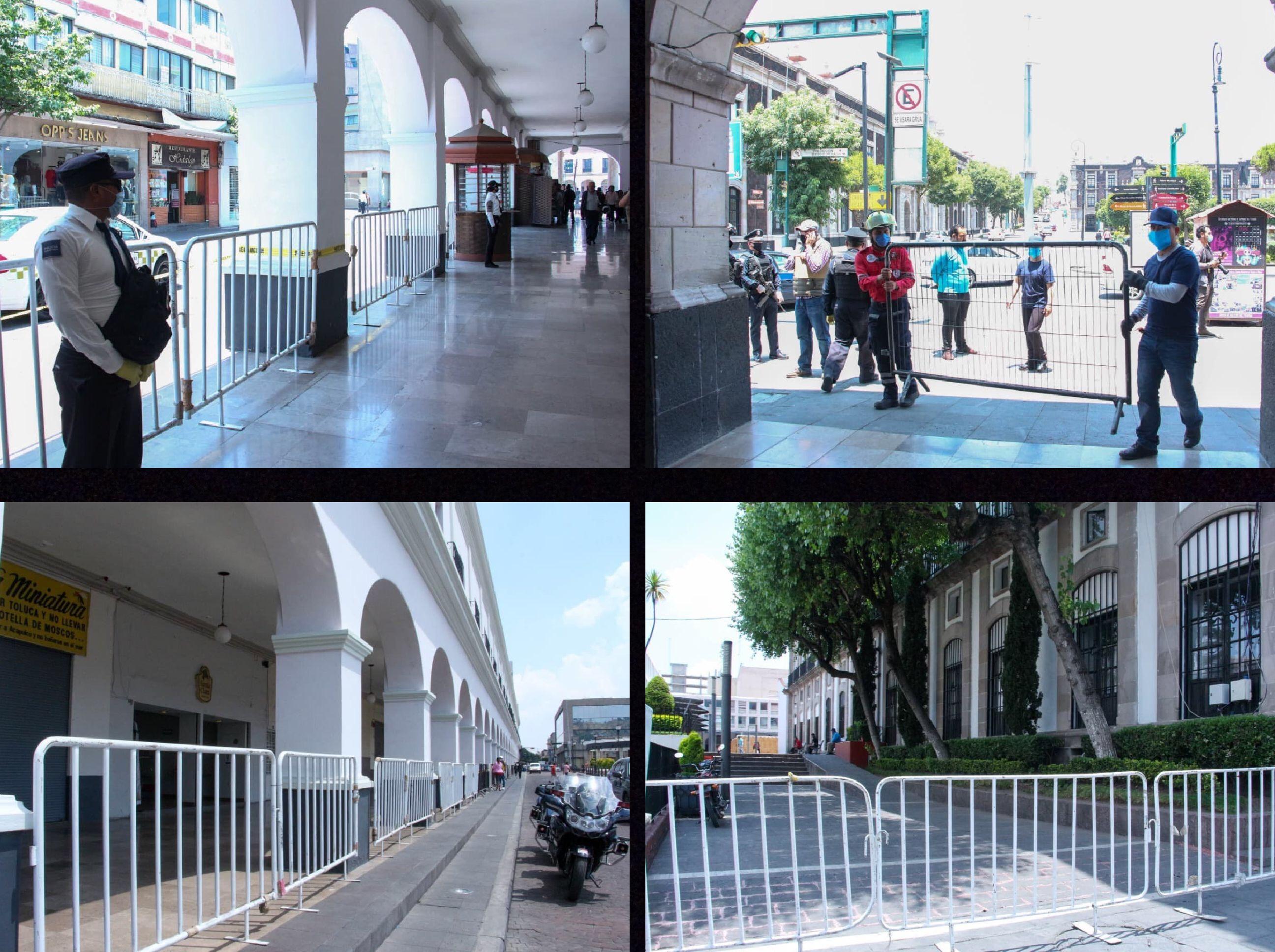 """Cerrados """"Los Portales"""" de Toluca, temporalmente"""