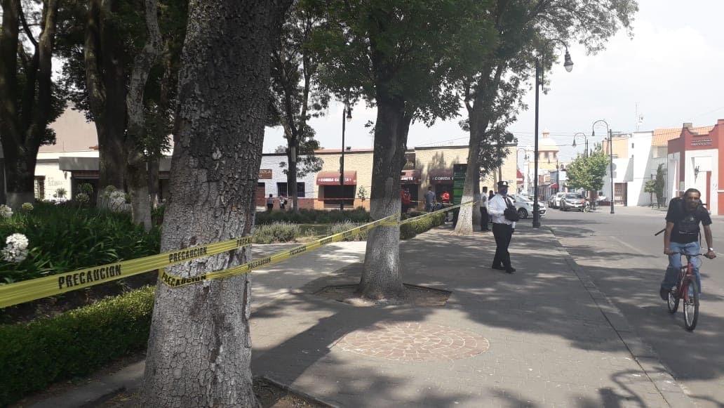 """Ahora cierran """"La Alameda"""" de Toluca; quédate en casa, enfatizan autoridades"""