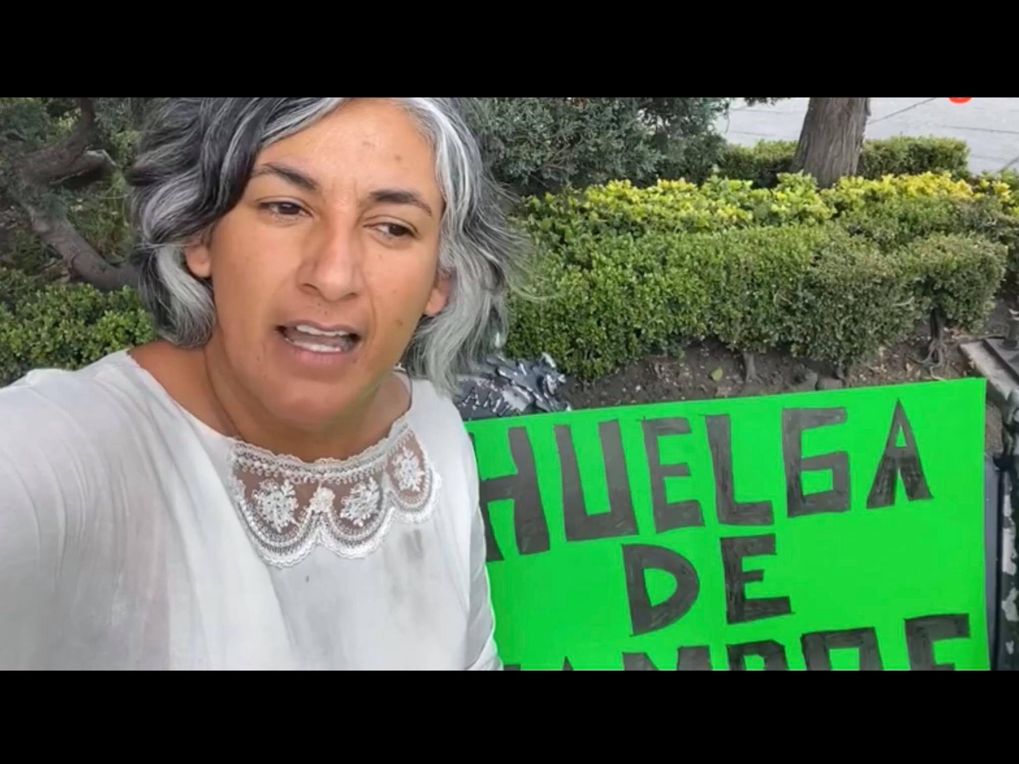 Regidora de Zina acusa opacidad e inicia huelga de hambre