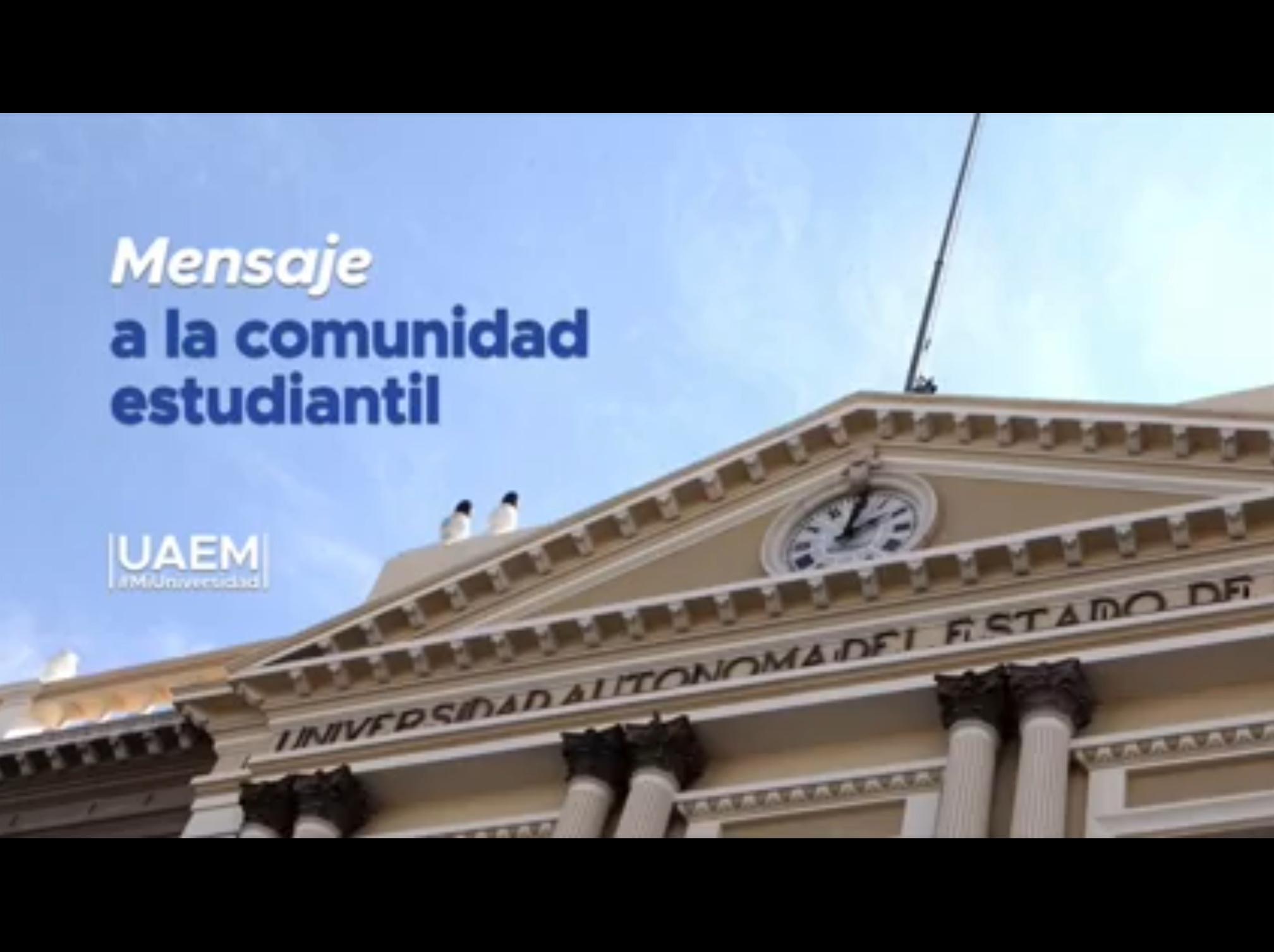 Nadie perderá el semestre en UAEM por COVID-19