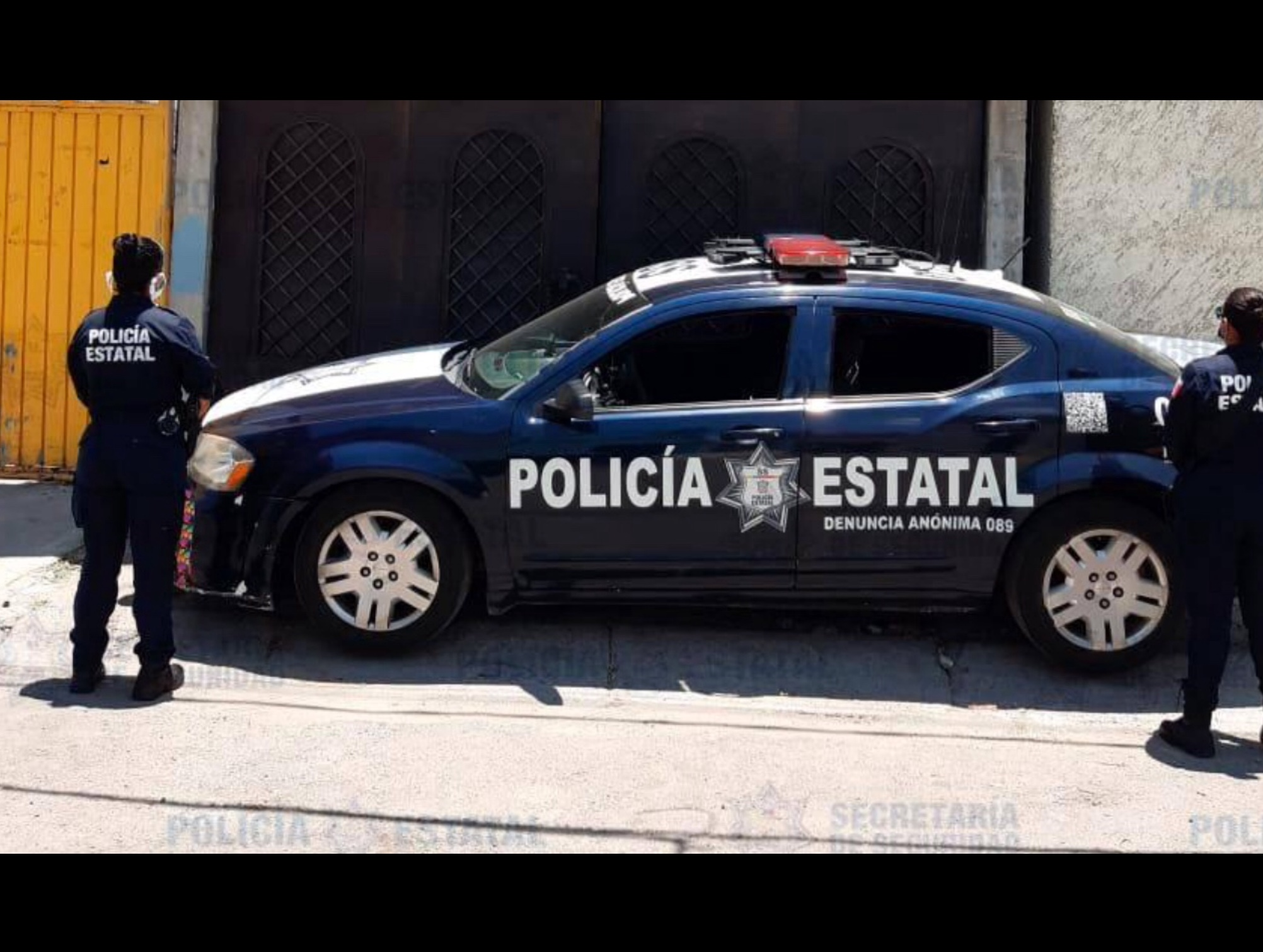 Pega COVID-19 a filas de policía de Edoméx