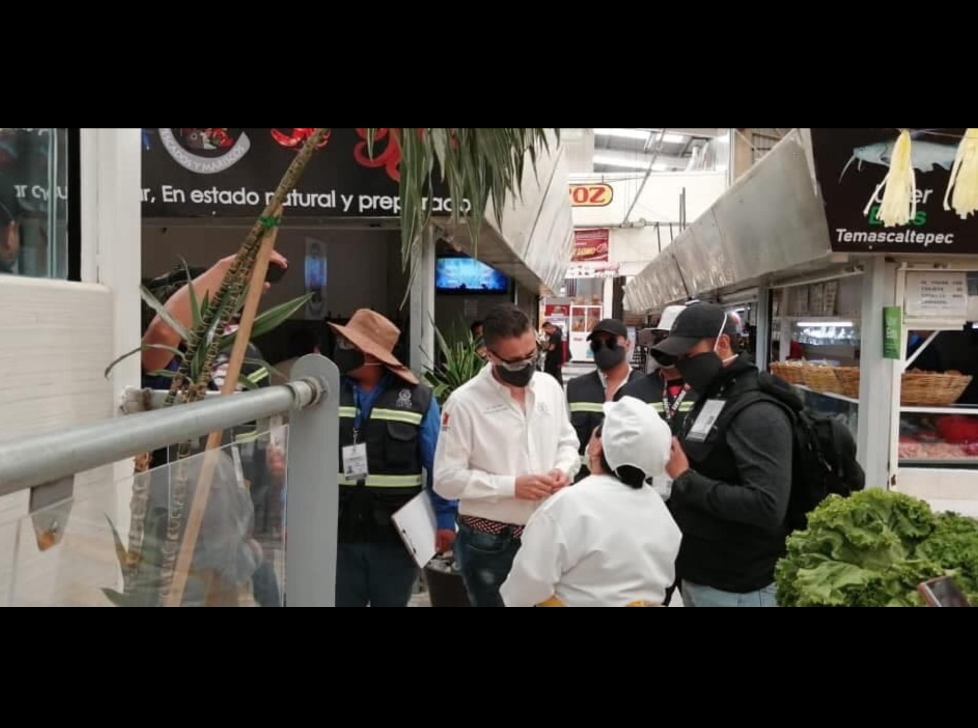 Suspendidos negocios por burlar alerta sanitaria en Toluca