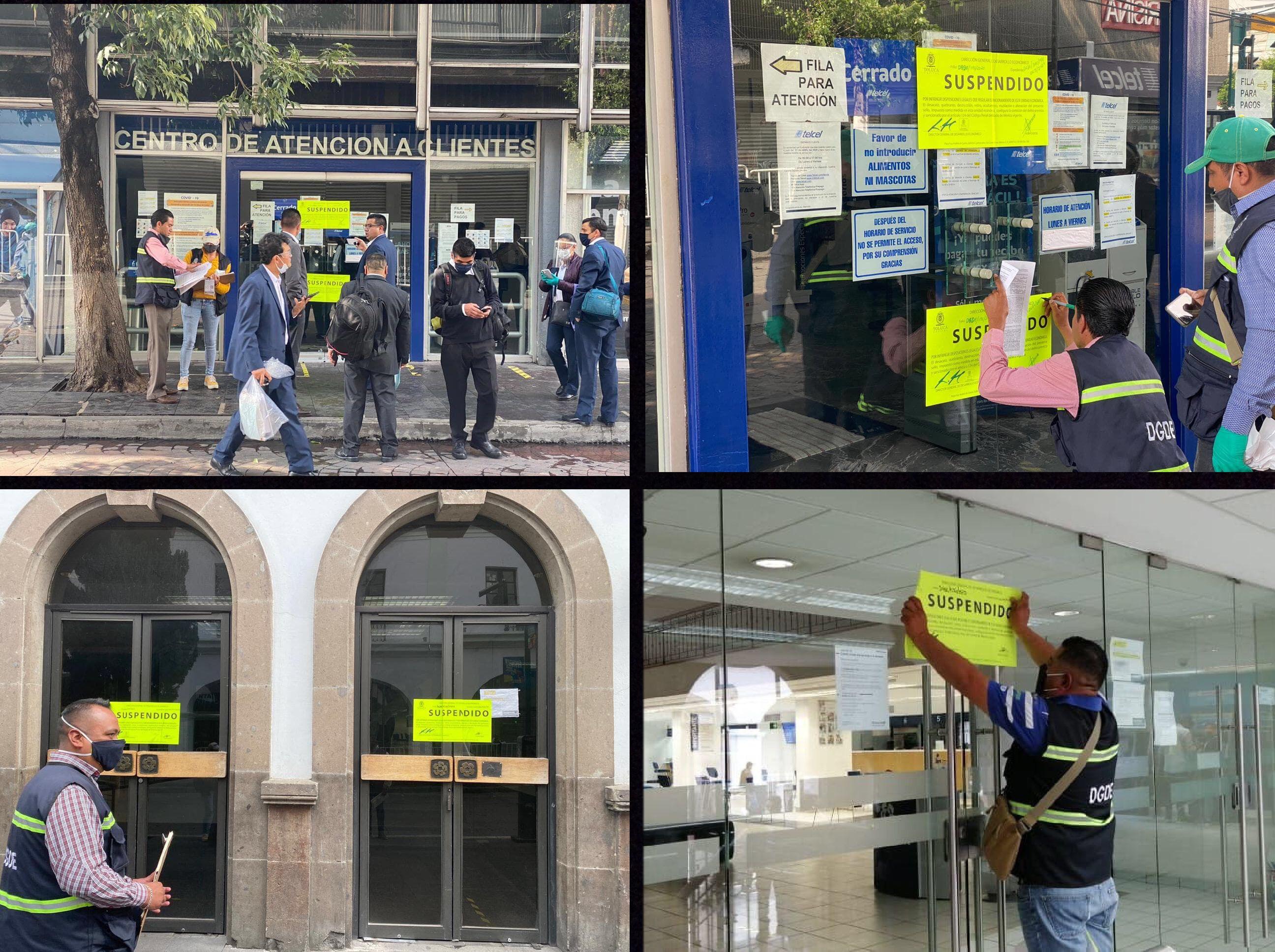 Burlaban la Ley en Toluca... los suspenden