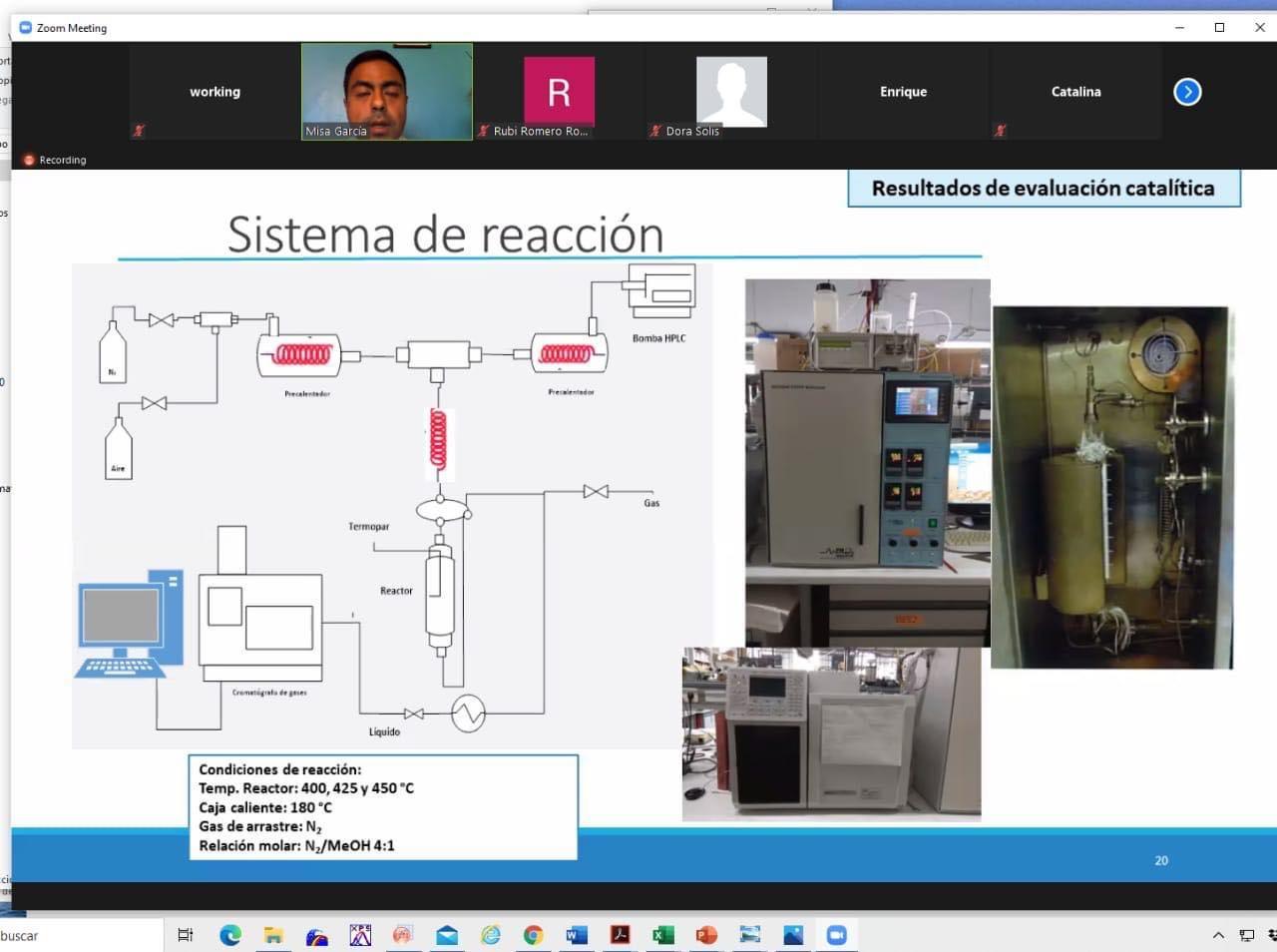 """Química de UAEM realiza primer examen de doctorado """"en línea"""""""
