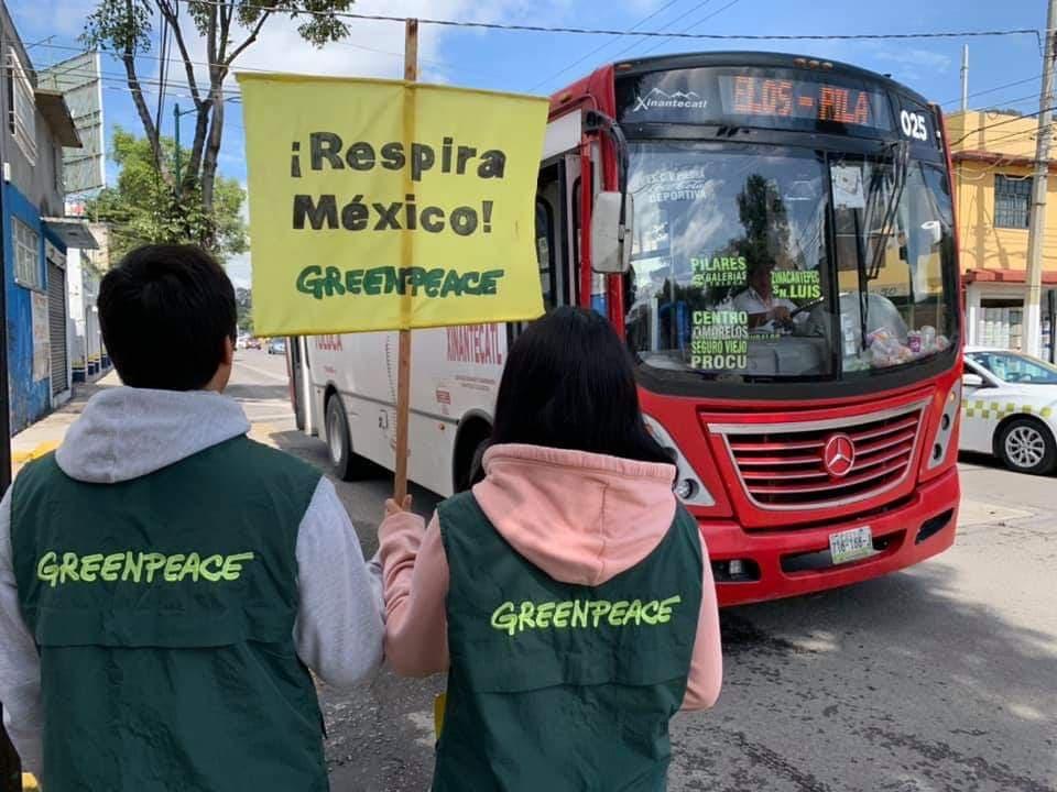 Gana amparo Greenpeace a gobierno de Edoméx
