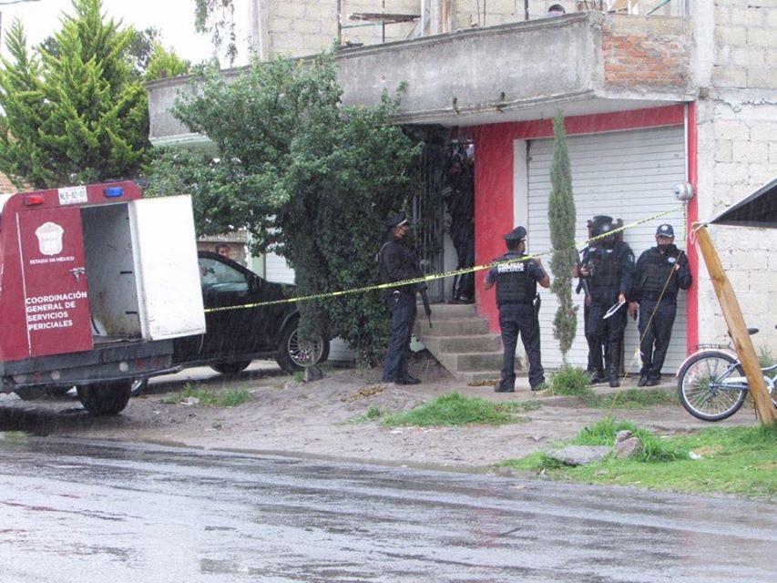 Asesinan a uno a sangre fría en Toluca