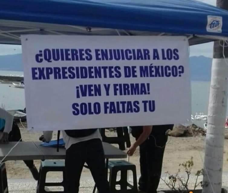 Impulsan juicio contra expresidentes desde Toluca