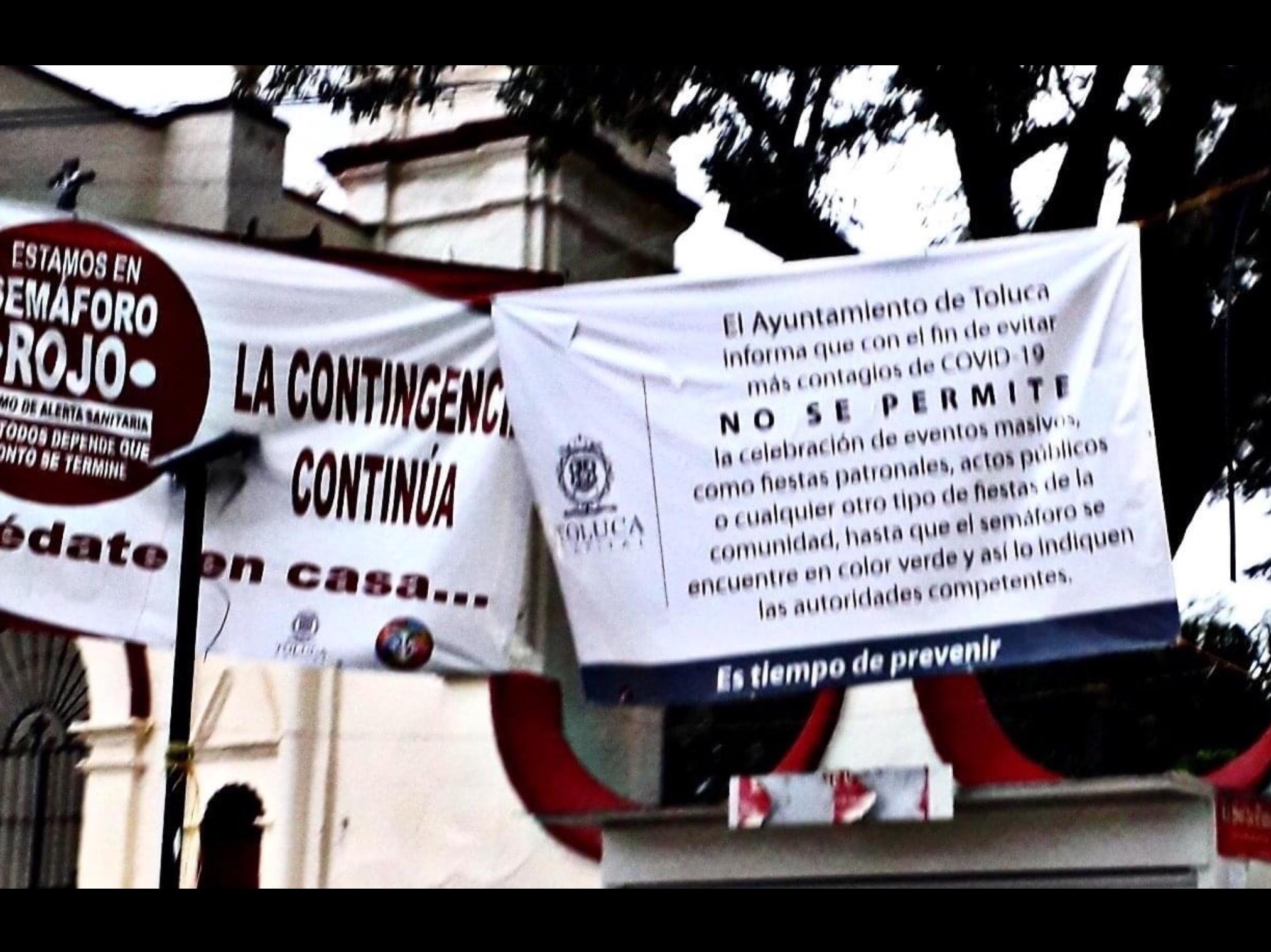 Advierten repunte de COVID-19 en Toluca