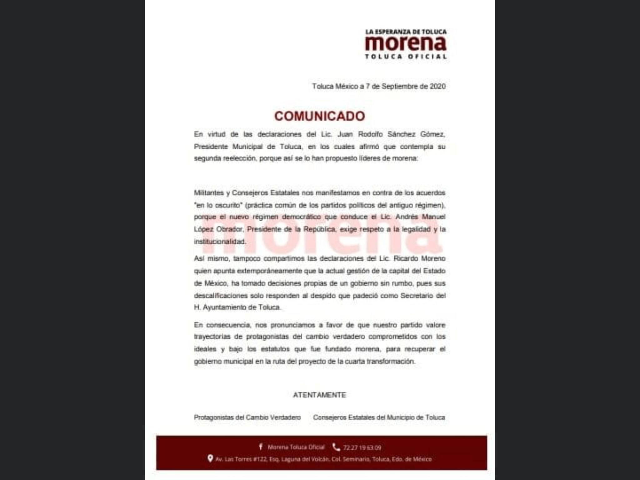 """Piden """"caras nuevas"""" para alcaldía de Toluca en 2021"""