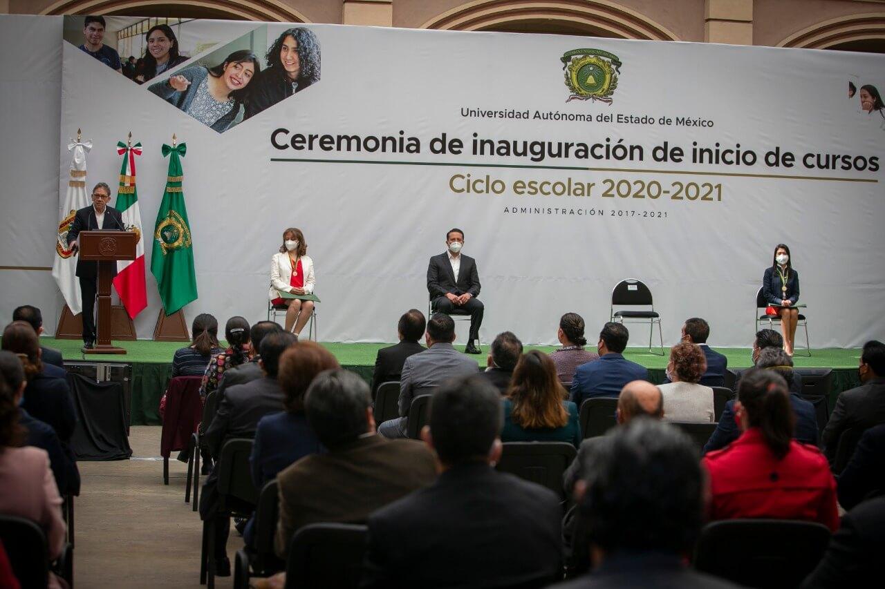 Presupuesto de UAEM a becas creció 21 mdp: Alfredo Barrera