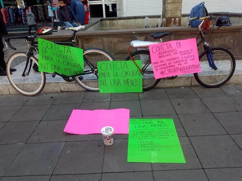 Desalojamos a feministas porque pedían dinero: JuanRo
