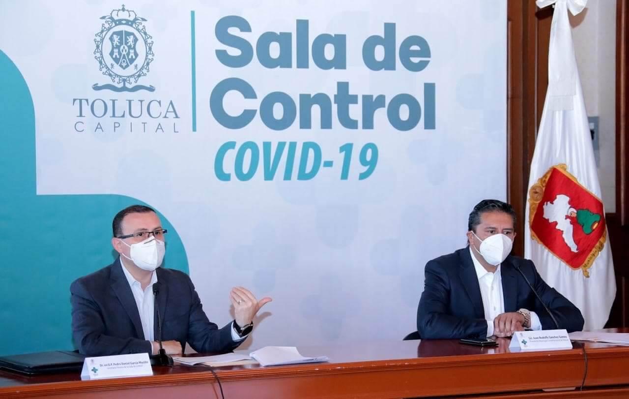 Se ralentizan casos de COVID-19 en Toluca