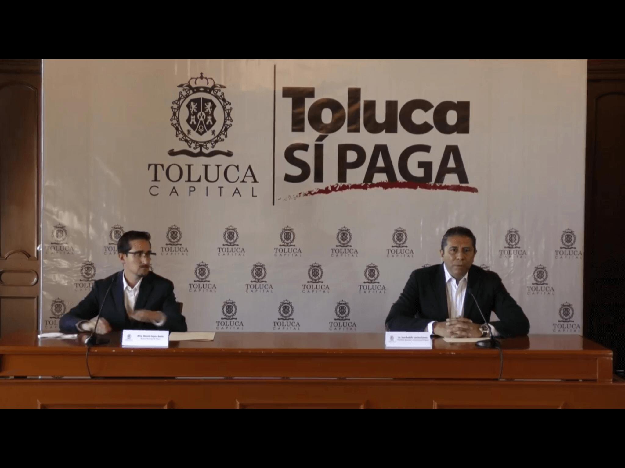 Toluca está en números rojos, acepta alcalde