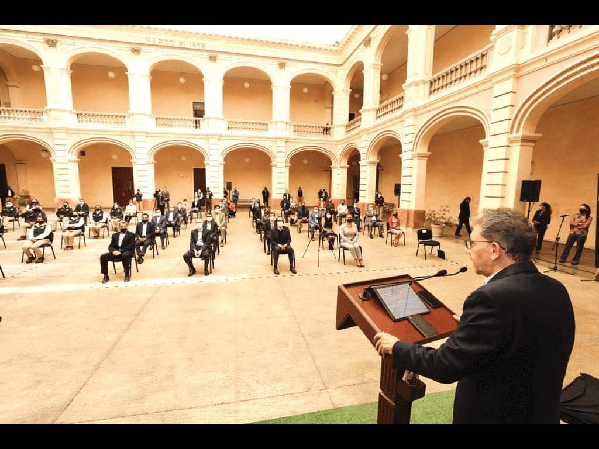 Alfredo Barrera anuncia nuevo modelo de seguridad en UAEM