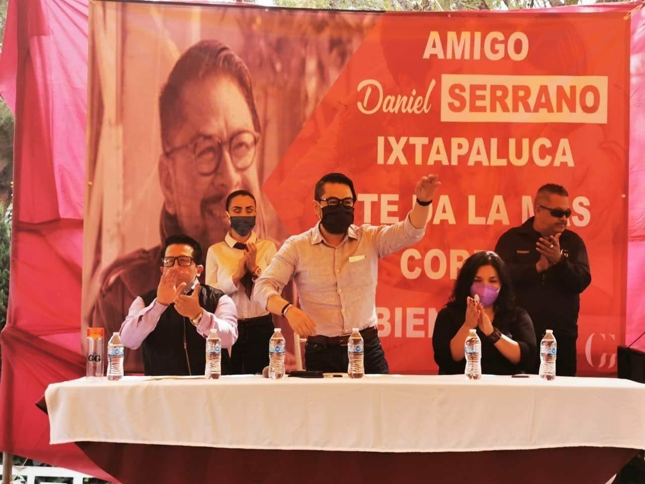 Suma Daniel Serrano a edil de Ixtapaluca a su proyecto