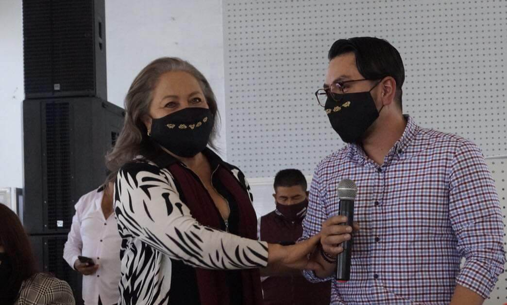 Lleva Daniel Serrano reestructuración de MORENA a Toluca