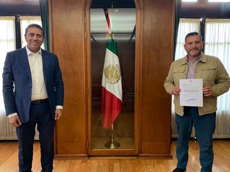 Toma Gabriel Medina riendas del IMPLAN en Toluca