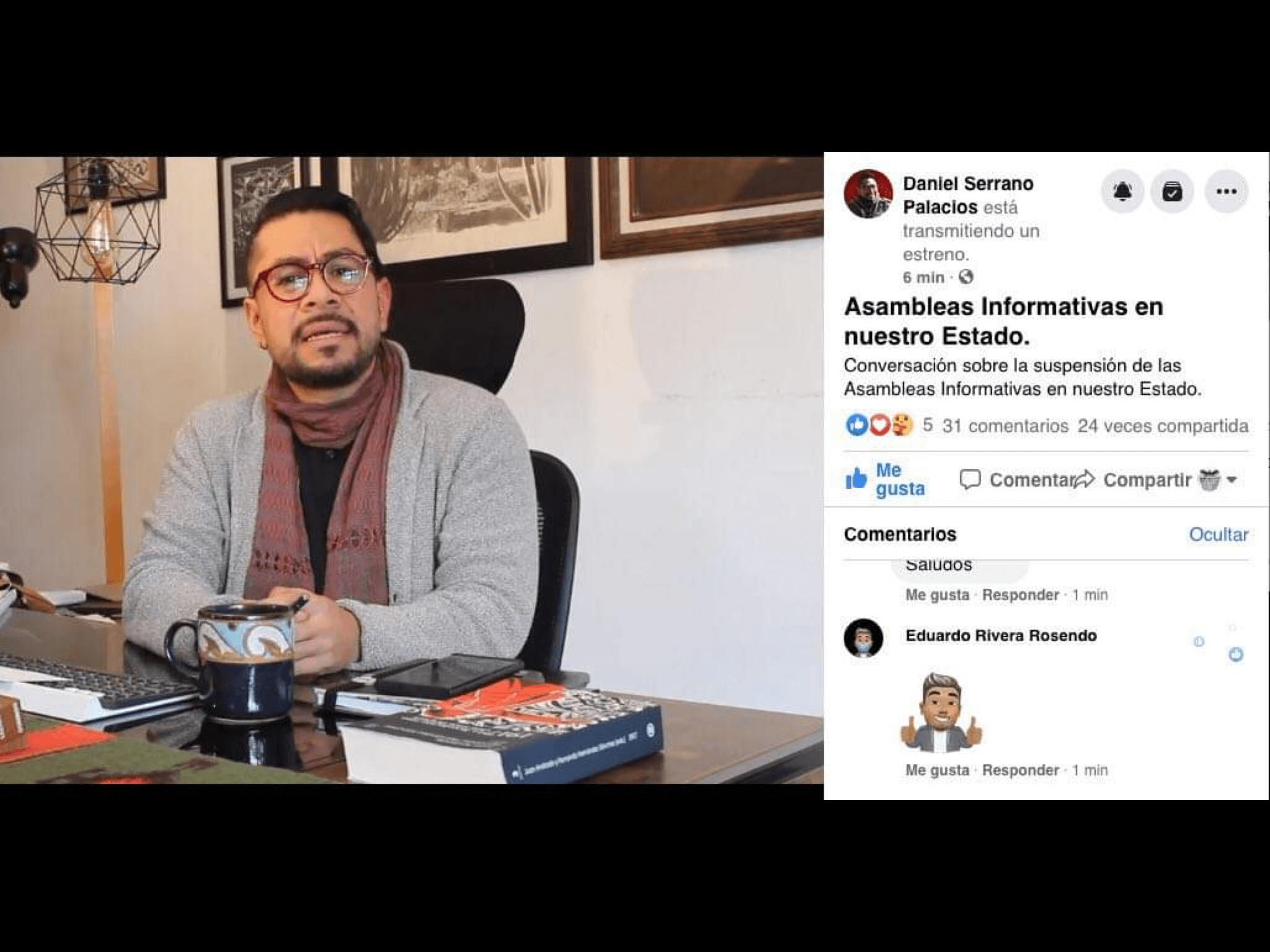 """""""Repunte de COVID-19 obliga suspensión de asambleas"""""""