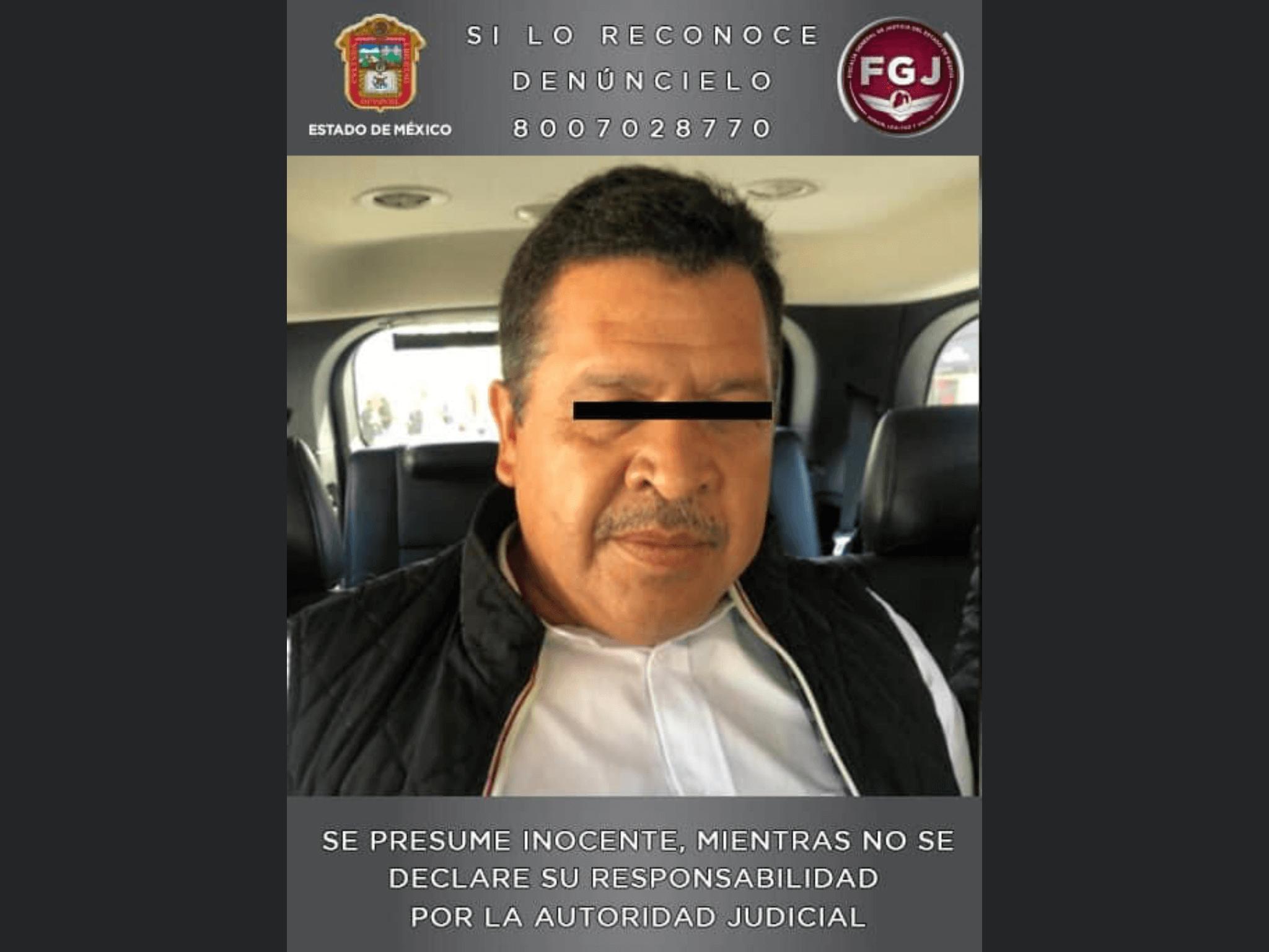 Inhabilitado alcalde de Zinacantepec por proceso judicial