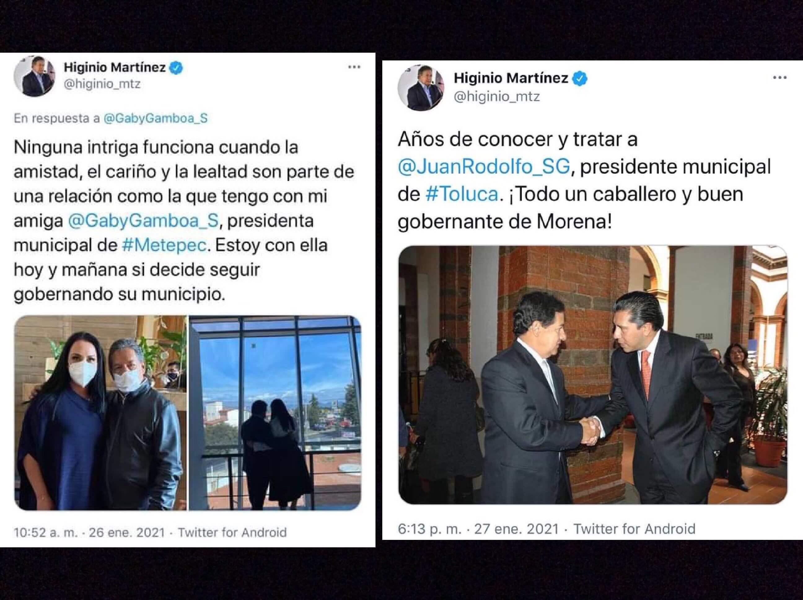"""""""Calienta"""" Higinio sucesión en Toluca y Metepec"""