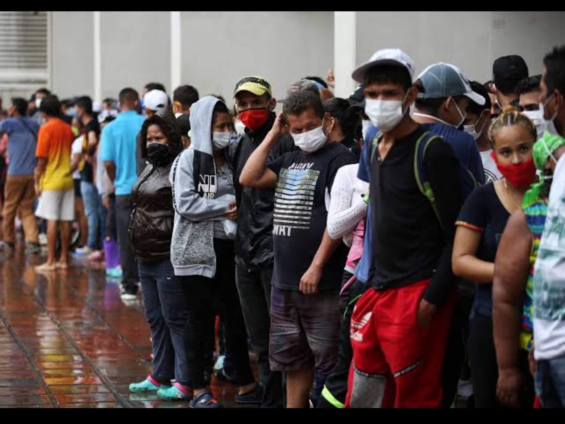 Crece flujo de migrantes venezolanos en México