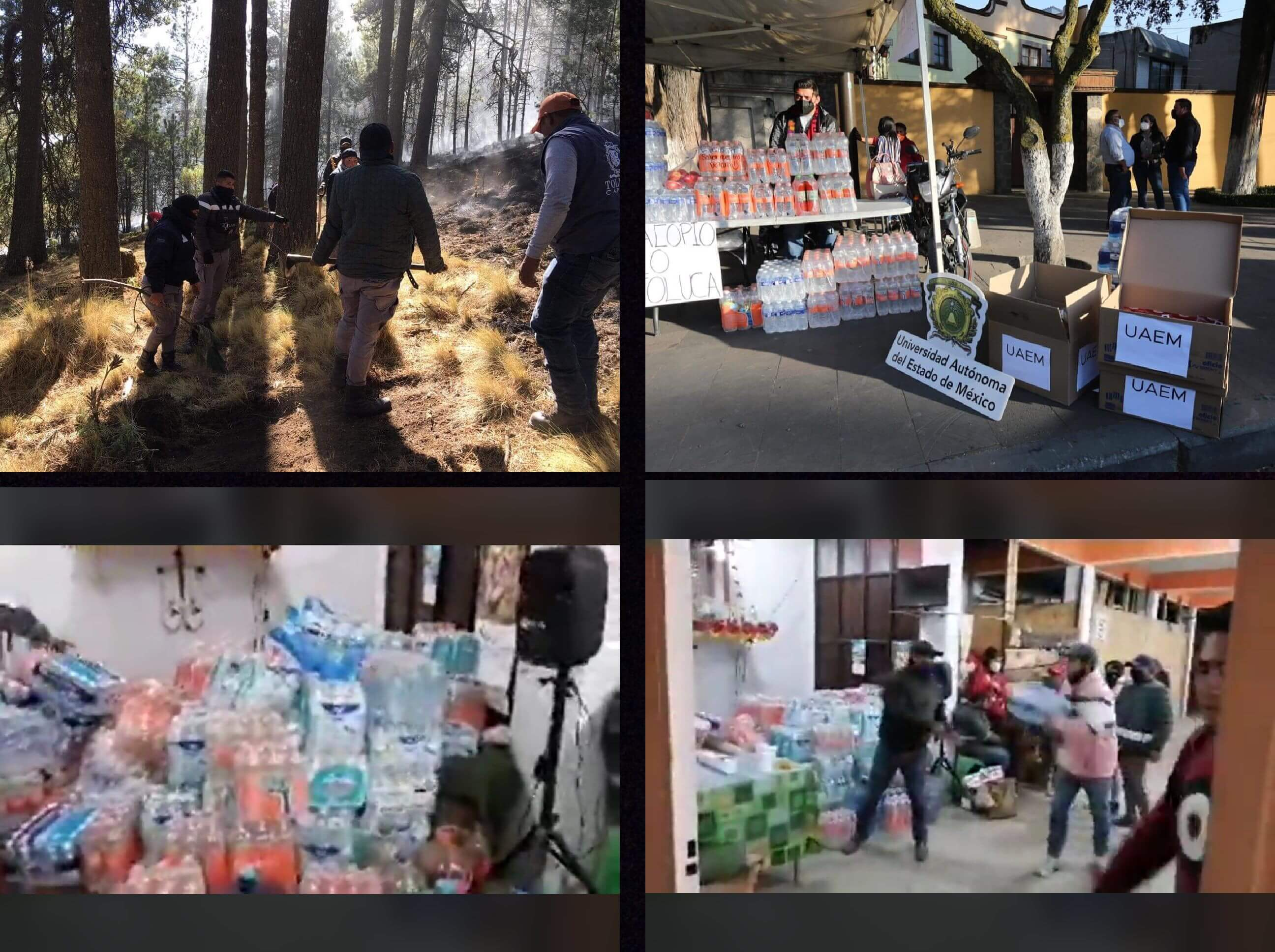 Esperanza: reportan controlado pero no liquidado incendio en Nevado