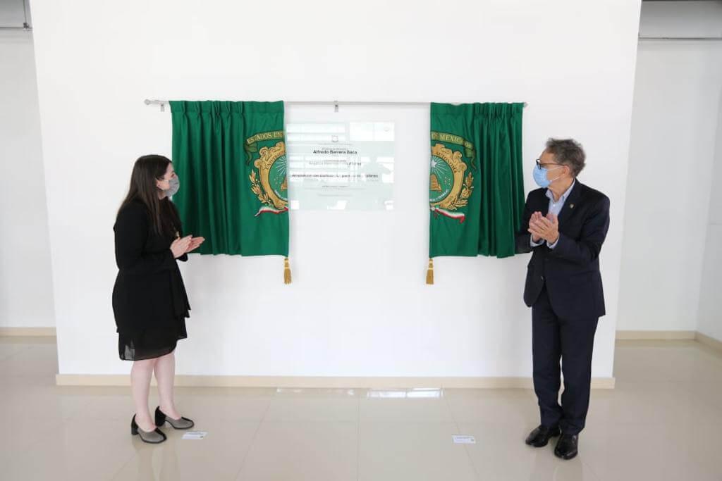 Entrega Barrera infraestructura a Facultad de Artes de UAEM