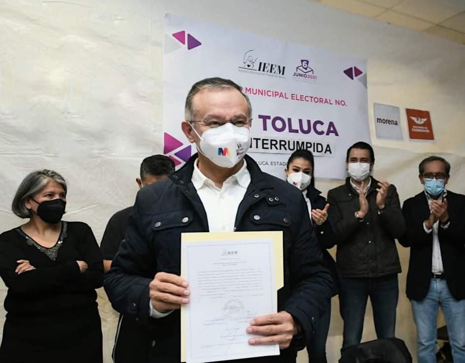 Oficializan triunfo de PRI-PAN-PRD en Toluca